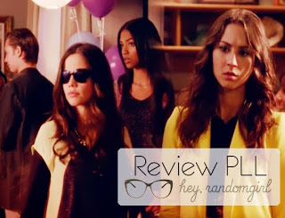Pretty Little Liars (4x09) - Jenna e Spencer blusa amarela