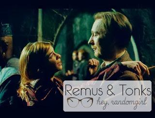 Remus Lupin e Ninfadora Tonks Relíquias da Morte