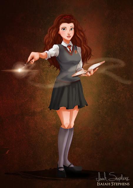 Bela como Hermione Granger