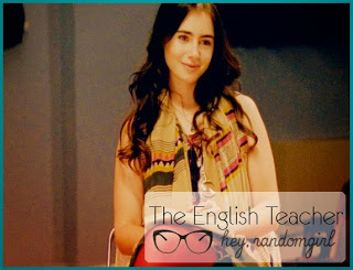 The English Teacher - Halle - Lily Collins