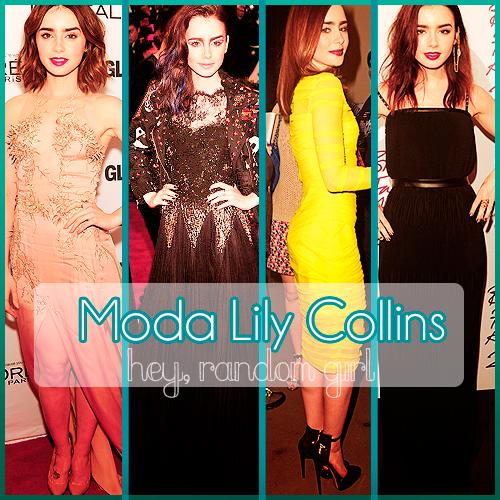 Moda Lily Collins