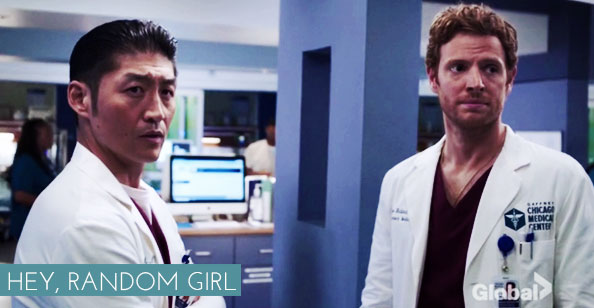 Chicago Med - Choi e Will
