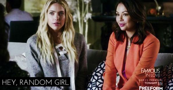Resenha Pretty Little Liars - Hanna e Mona