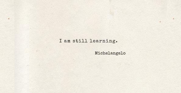 Ainda Aprendendo