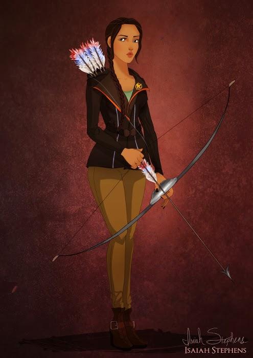 Pocahontas como Katniss