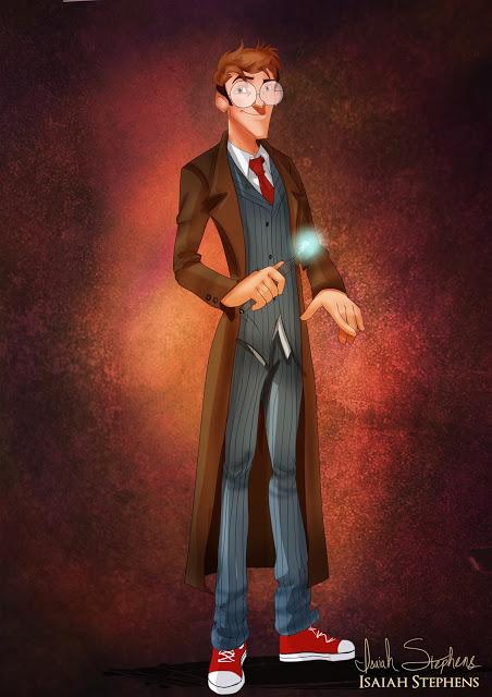 Milo Thatch como 10º Doutor