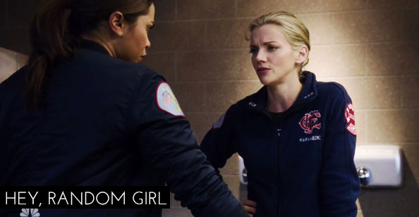 Chicago Fire 6x14 - Brett e Gabby