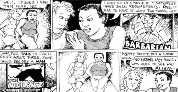 Representatividade - Teste-Bechdel